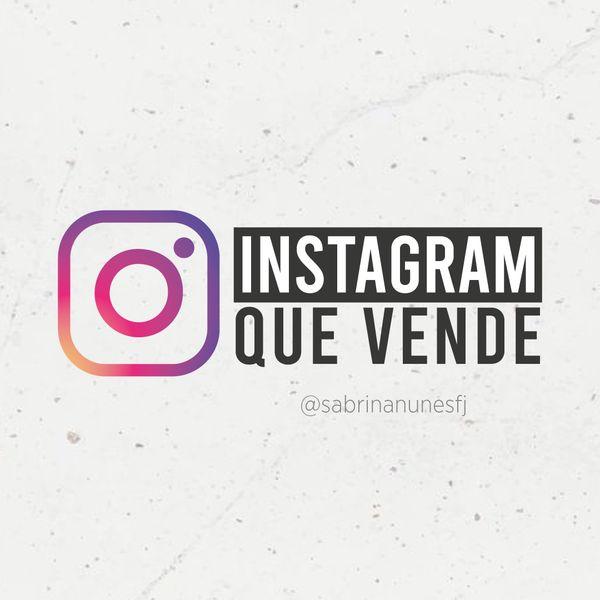 Imagem principal do produto Instagram que Vende para Alunos