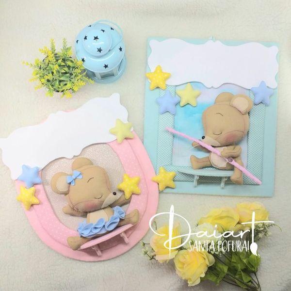 Imagem principal do produto Curso Quadros de Maternidade Ursinhos Sonhadores