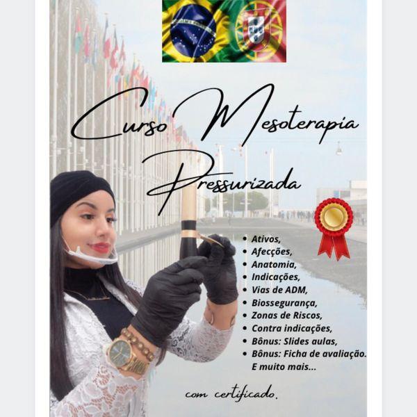 Imagem principal do produto  CURSO DE MESOTERAPIA PRESSURIZADA ESTÉTICA
