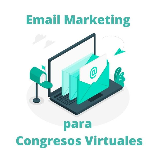 Imagem principal do produto Email Marketing para congresos virtuales