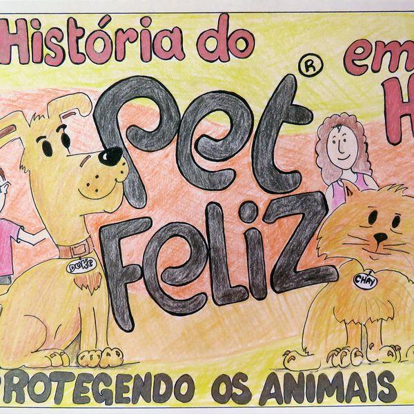 Imagem principal do produto A História do Petfeliz em História em Quadrinhos