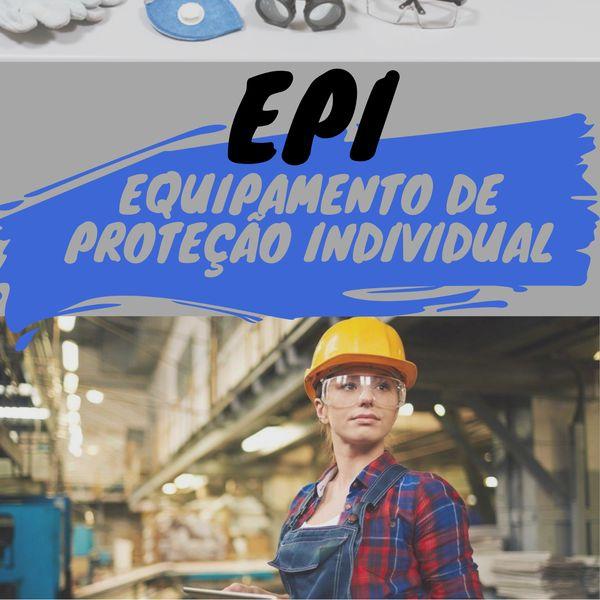 Imagem principal do produto eBook sobre Equipamento de Proteção Individual - EPI