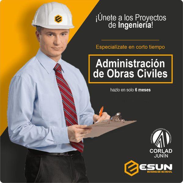 Imagem principal do produto Administración de Obras Civiles
