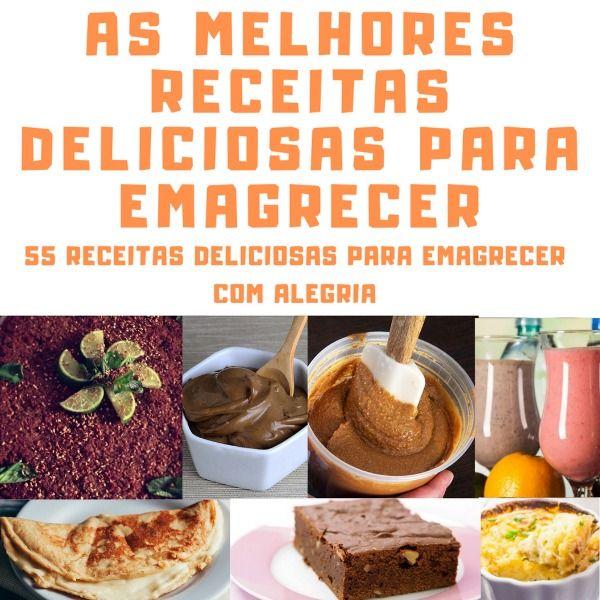 Imagem principal do produto AS MELHORES RECEITAS DELICIOSAS PARA EMAGRECER!
