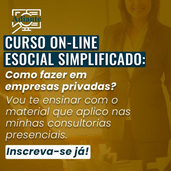 Imagem principal do produto Como fazer eSocial Simplificado nas empresas privadas?