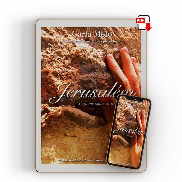 Imagem principal do produto Jerusalém, se eu me esquecer de ti...
