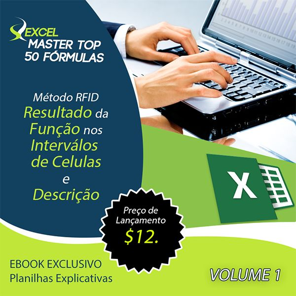 Master Top 50 Fórmulas do Excel Ebook | Hotmart