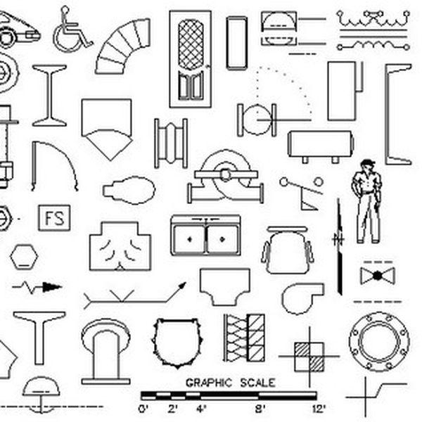 Imagem principal do produto Blocos AutoCAD