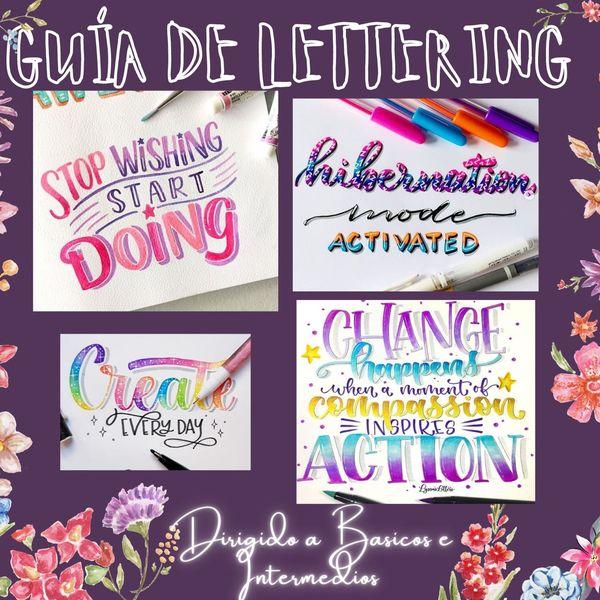Imagem principal do produto Guía Básica de Lettering y Studygram