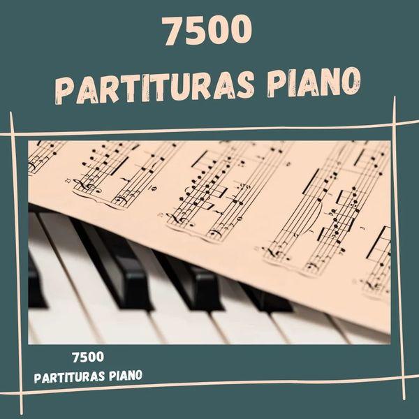 Imagem principal do produto MAIS DE 7 MIL PARTITURAS PARA PIANO - BIBLIOTECA DO PIANISTA