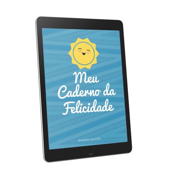 Imagem principal do produto E-book Meu Caderno da Felicidade
