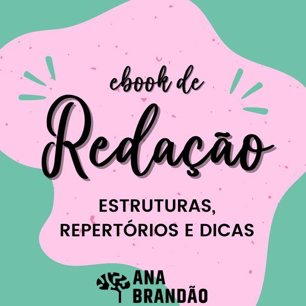 Imagem principal do produto E-book de Redação