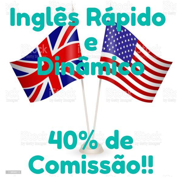 Imagem principal do produto Inglês Rápido e Dinâmico