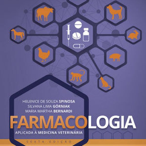 Imagem principal do produto Farmacologia aplicada a med veterinária 6ed