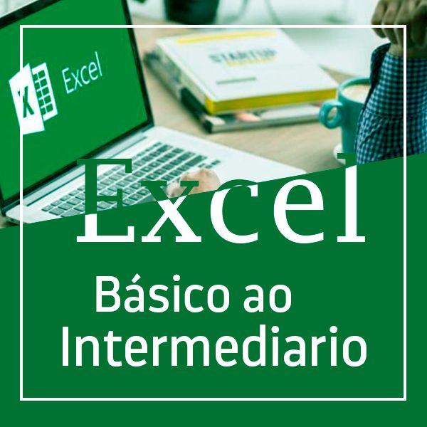 Imagem principal do produto Curso de Excel do Básico ao Intermediário - Aprendizagem Rápida e Fácil!!