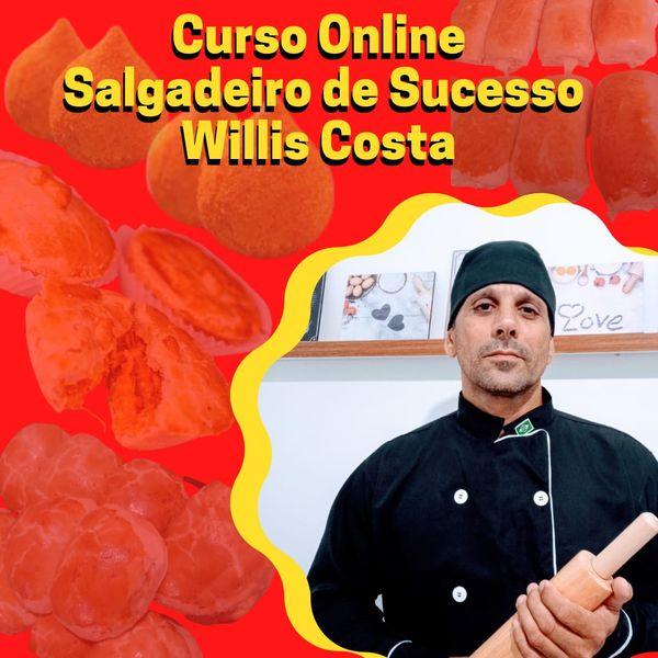 Imagem principal do produto Curso Online Salgadeiro de Sucesso Willis Costa