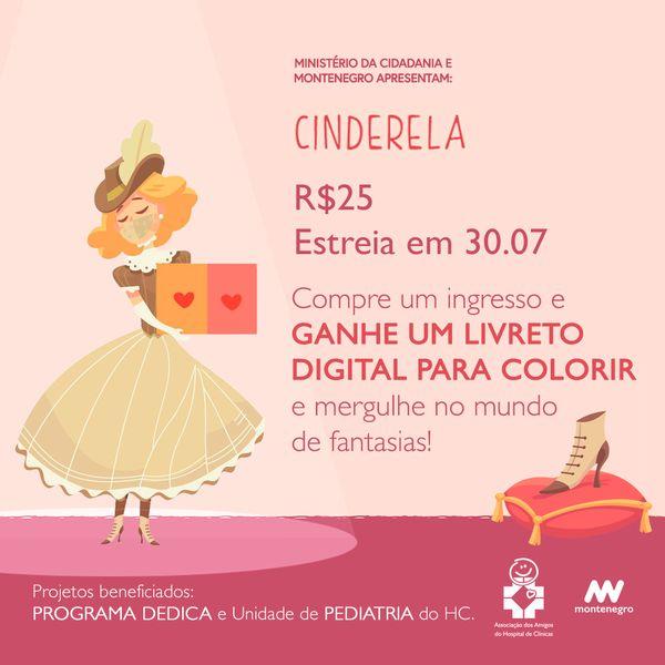 Imagem principal do produto FESTIVAL ERA UMA VEZ... CINDERELA