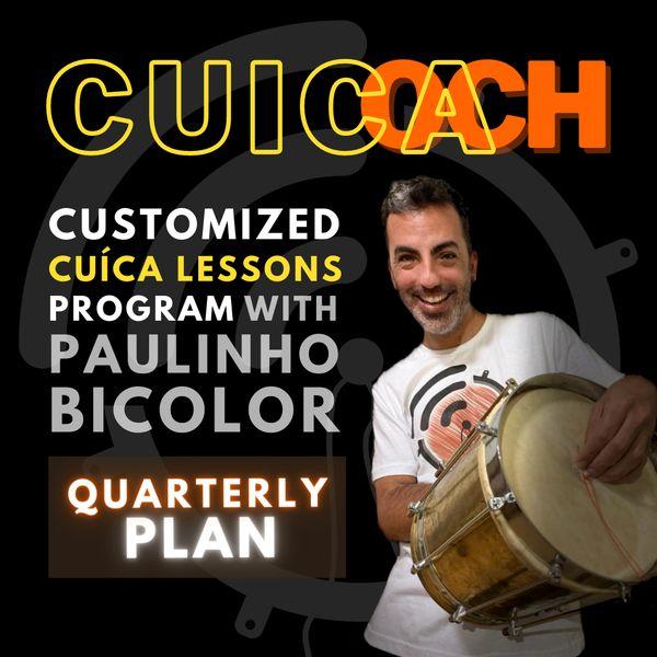 Imagem principal do produto CUICOACH ::::: Personal Cuíca Trainer ::::: Quarterly plan [PROMO]