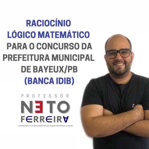 Imagem principal do produto Matemática e Raciocínio Lógico para o concurso da prefeitura de BAYEUX