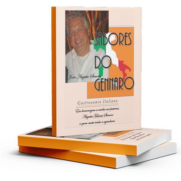 Imagem principal do produto E-book Sabores do Gennaro
