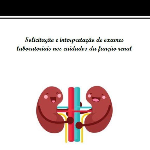 Imagem principal do produto E-book Solicitação e Interpretação de Exames Laboratoriais nos Cuidados da Função Renal