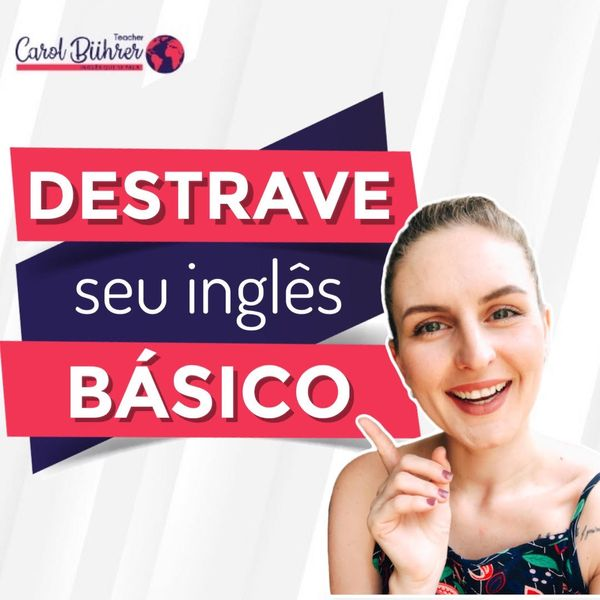 """Imagem principal do produto Destrave seu inglês básico: o """"to be""""!"""