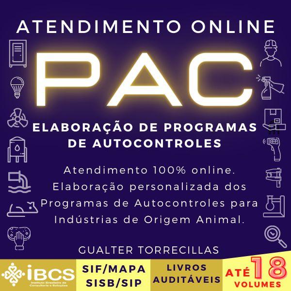 Imagem principal do produto ELABORAÇÃO DOS PROGRAMAS DE AUTOCONTROLES - PAC