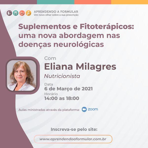 Imagem principal do produto Aprendendo a Formular Online - Suplementos e Fitoterápicos: uma nova abordagem nas doenças neurológicas.
