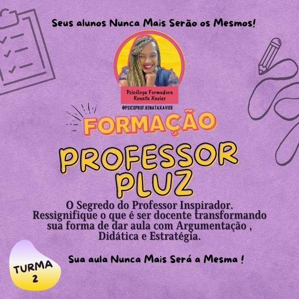 Imagem principal do produto FORMAÇÃO -  PROFESSOR PLUZ