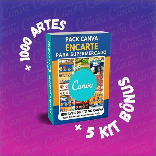 Imagem principal do produto Encarte Supermercado Bem Variado +1000Artes+5KitsBônus