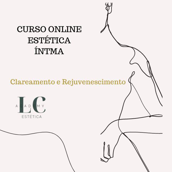 Imagem principal do produto Curso Onlline de Estética Íntima  Clareamento & Rejuvenescimento - LC CURSOS