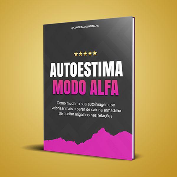 Imagem principal do produto Alfabook Autoestima Modo Alfa