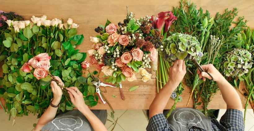 Formação Completa em Arte Floral e Negócios em Flores