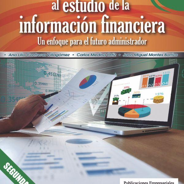 """Imagem principal do produto """"Introducción al estudio de la información financiera"""""""