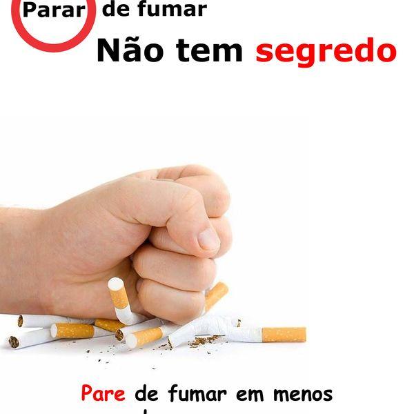 Imagem principal do produto Deixar de fumar não tem segredo