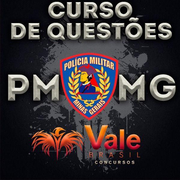 Imagem principal do produto CURSO DE QUESTÕES PMMG (Polícia Militar de Minas Gerais) BANCA CRS