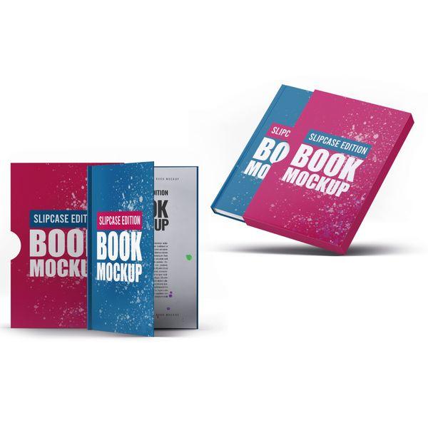 Imagem principal do produto Capa e-Book Magnético - Kit 2 Book Cover Mockups #8- PSD 100% Editável