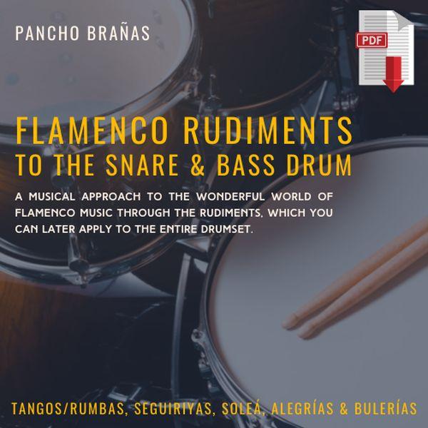 Imagem principal do produto Flamenco Rudiments to the Snare & Bass drum Method