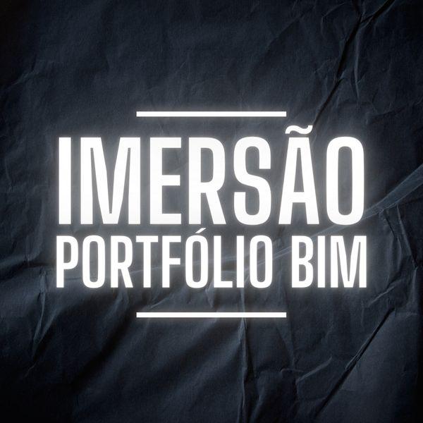 Imagem principal do produto IMERSÃO PORTFÓLIO BIM