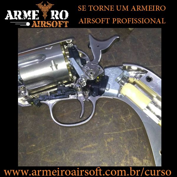 Imagem principal do produto Armeiro Airsoft - Curso de Manutenção do Básico ao Avançado