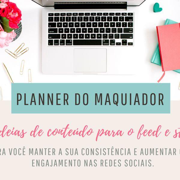 Imagem principal do produto 30 IDEIAS DE CONTEÚDO - PLANNER DO MAQUIADOR INICIANTE