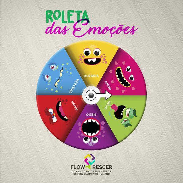 Roleta Das Emocoes Flowrescer Educacao Emocional Learn A New