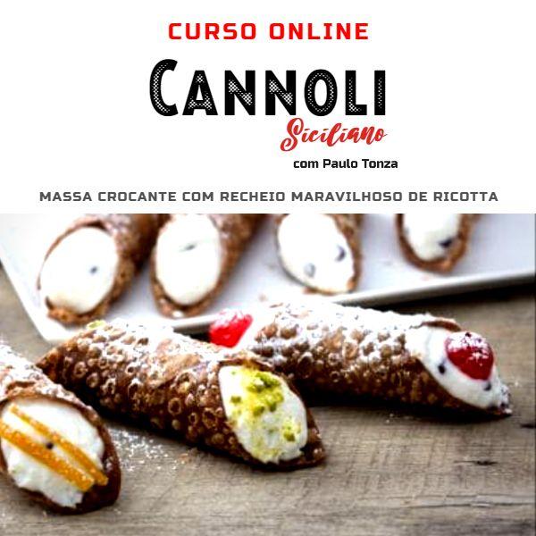 Imagem principal do produto CANNOLI SICILIANO - PAULO TONZA