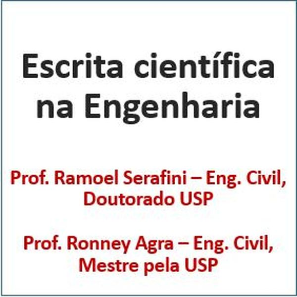 Imagem principal do produto Escrita científica na Engenharia