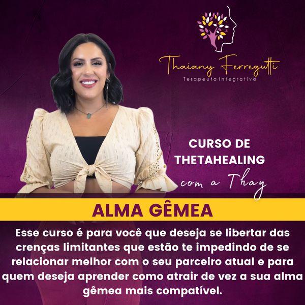 Imagem principal do produto Curso de Thetahealing - Alma Gêmea
