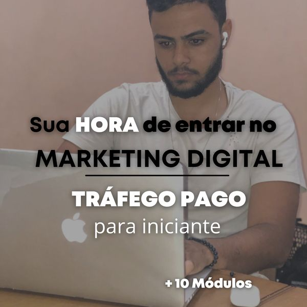 Imagem principal do produto Marketing digital: Tráfego pago para iniciantes