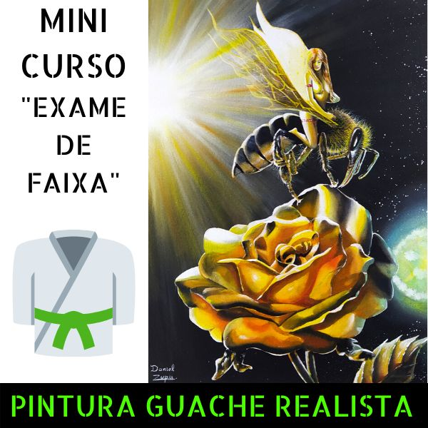 Imagem principal do produto GUACHE REALISTA - ROSA DOURADA