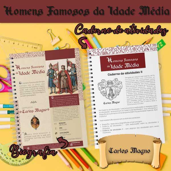 Imagem principal do produto CARLOS MAGNO - Homens Famosos da Idade Média