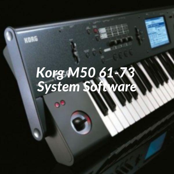 Imagem principal do produto Korg M50 61-73 System Software