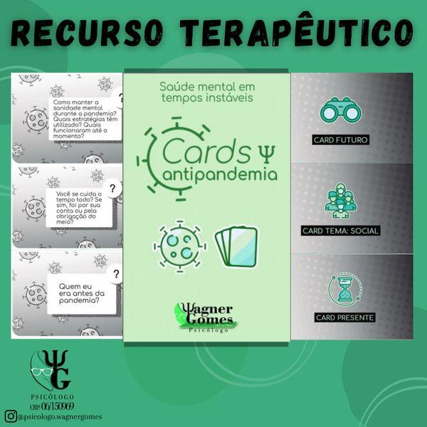 Imagem principal do produto Cards Antipandemia
